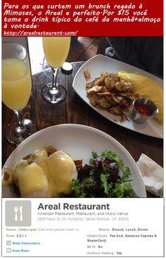 Domingao e dia de Brunch nos EUA, a refeição que combina café da manha e almoço. Confiram algumas dicas de restaurante no Aqui & Ali em Los Angeles: http://www.hollywoodeaqui.com/aqui-e-ali-na-california-hoje-no-mapa-menus-variados/