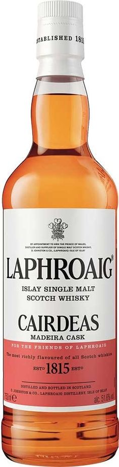 Laphroaig Cairdeas 2016 Edition Madeira Cask Islay Single Malt Scotch Whisky | @Caskers