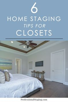 6 Home Staging Tips for Closets - Home Selling - Home Selling Tips - - Storage is one of the top things on home buyers' want lists when they go house hunting. Make sure your closets impress with these 6 easy home staging tips! Home Decor Hacks, Home Hacks, Unique Home Decor, Cheap Home Decor, Decor Ideas, Sell Your House Fast, Selling Your House, Home Staging Tips, Home Buying
