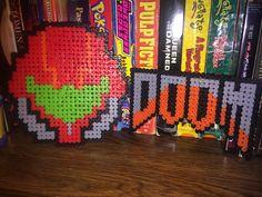 Diy Perler Beads, Pearler Beads, Diy Xmas Ornaments, Diy Craft Projects, Diy Crafts, Metroid, Kandi, Pixel Art, Videogames