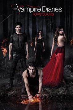 Vampire Diaries Woods - Official Poster