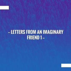 Your cup of coffee and this post on my blog. Letters from an Imaginary Friend 1 http://artsquestions.blogspot.com/2017/05/letters-from-imaginary-friend-1.html?utm_campaign=crowdfire&utm_content=crowdfire&utm_medium=social&utm_source=pinterest