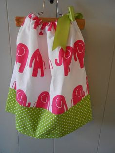 Adorable for my girls! Pillow Case Dress