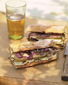 Grilled Chicken Sandwiches with Mustard