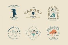 115+ Vintage Logo Templates & Photo Mockups - only $16! - MightyDeals