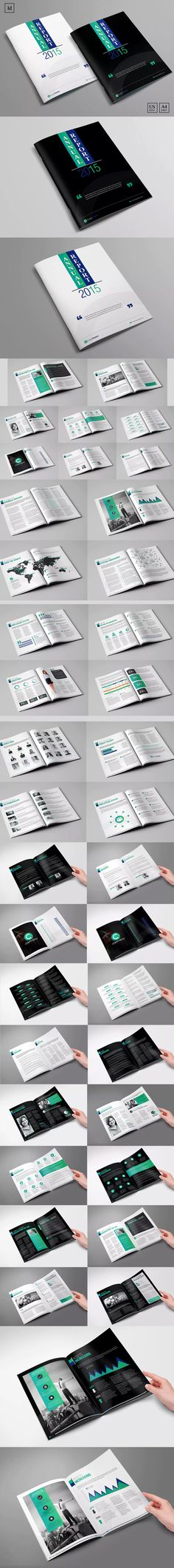 68 best Annual Report Templates images on Pinterest