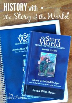 History with Story of the World: this series from Peace Hill Press is the perfect introduction to world history for elementary students.  Includes a free printable planning checklist!  homeschooling history