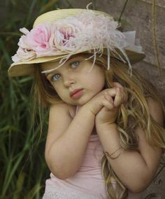 A pretty hat for a pretty girl.