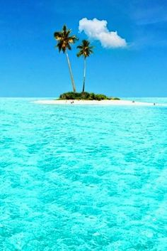 Caribbean living island life..Wow that's remote!