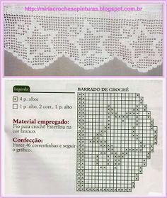crochet border edging
