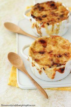 French Onion Butternut Squash Soup