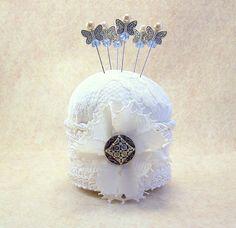 Gatsby creamy ivory lace Victorian shabby by GaffneyGirlStudio, $15.00
