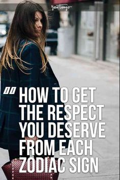 Everyone wants to feel like they are respected. If you don't, make a change using astrology. Here are some strategies and tips on how to get respect from others, based on their zodiac sign using astrology by horoscope date. #zodiac #horoscope #astrology #zodiacsign