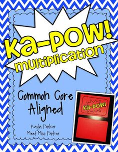 In this NEW and EXCITING Common Core aligned game, your students will be on the edge of their seats while they practice their multiplication facts! Included in the pack are all the facts up to 12. This game is classroom tested and student approved.