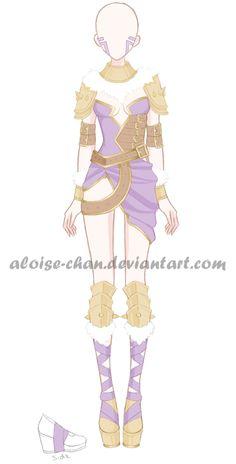 [OPEN] Spike Armour Adoptable by Aloise-chan.deviantart.com on @DeviantArt
