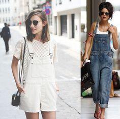 Salopette jeans e non solo  ecco uno dei trend dell estate 2014! Overol fcce9a080ec