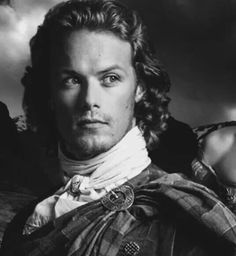 Sam Heughan as Jamie Fraser~ Outlander (wow)