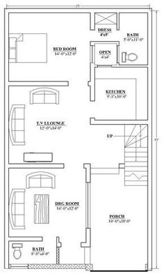 rasul's media content and analytics Town House Plans, 2bhk House Plan, Small House Floor Plans, Simple House Plans, Model House Plan, Duplex House Plans, House Layout Plans, Luxury House Plans, Dream House Plans