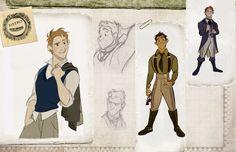Photo Flash: WICKED As An Animated Film? Disney Artist Imagines Cartoon Elphaba, Glinda and More!