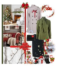 """Britannia Christmas - (B is for Bows)"" by fashionqueen76 ❤ liked on Polyvore featuring Christian Dior, Christmas and Dior"