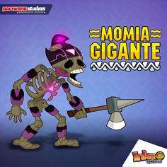 Giant Mummy - La Momia Gigante. #inkamadness #games #apps #ios #ipad #peru #juegos #videojuegos