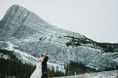 Wedding in the big white world. Photo by Luke Liable Photography