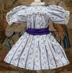 Antique Original doll dress