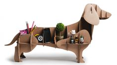 Pooches: Dogs cardboard as furniture design