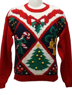 Front runner for Ugly Christmas Sweater!