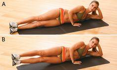 Barriga chapada com 5 exercícios - Fitness - MdeMulher - Ed. Abril