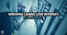 Are there wedding loans with low interest rates? Money marriage is often difficult, but we have practical solutions to help you cover all wedding expenses. Wedding Loans, Wedding Expenses, Budget Wedding, Wedding Planning, Wedding Day, Got Married, Getting Married, Low Interest Loans, Two People