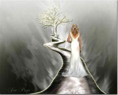 Bride of Christ  Like a Bride walking down the altar, so is the Bride of Christ walking to her eternal destiny.