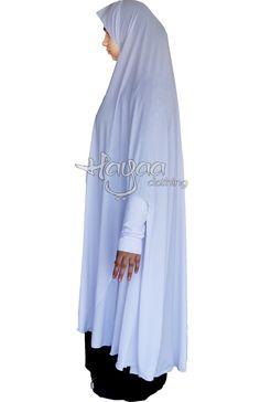 Hayaa Clothing - EVA Full Length Long Khimar Slip on Easy Hijab with Sleeves… Moslem Fashion, Sewing To Sell, Kamiz, Beautiful Hijab, Hijab Fashion, My Style, Abayas, Hijabs, Sleeves