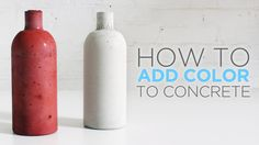 In this episode Ben will show how to color concrete by adding a pigment to the water before mixing the concrete. This project contains some improvements to t...