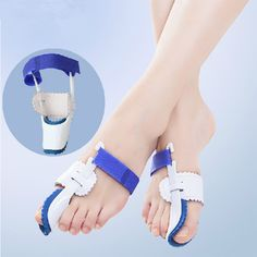 2016 hot sale 1 Pair Foot Care Tool Bunion Splint Great Toe Straightener Foot Pain Relief