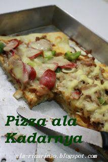 Dapurnya Rina Rinso Homemade Pizza Resep 1 Homemade Pizza Homemade Pizza
