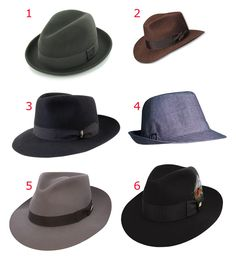 Fashion Fedora hats - I own #6 - The Belfry Bogart by: Hats In The Belfry. LOVE IT!