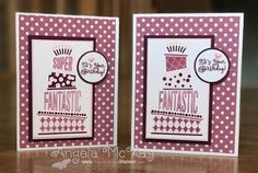 Stampin' Up! Crazy Cakes handmade card
