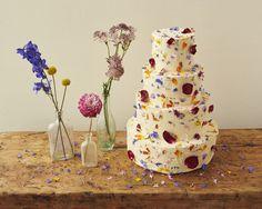 Flowerfetti cake