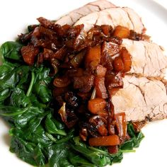 Pork Tenderloin with Caramelized Apples- this is one you will want to make over, and over, and over…