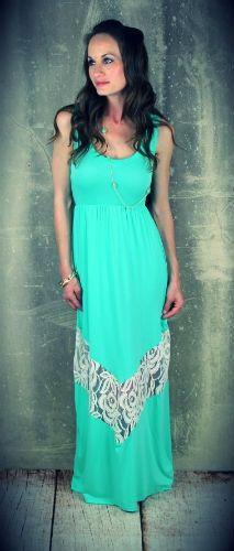 Home > Dresses >       Lace Chevron Maxi Dress