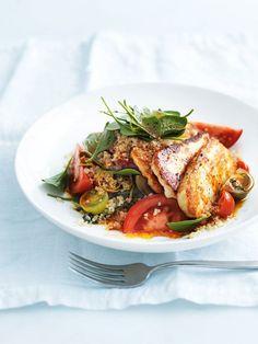 Smoky Haloumi And Quinoa Salad Recipe