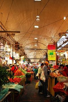 The La Merced Market (might be a little prostitutey...) is a traditional public market located in the eastern edge of the historic center of Mexico City and is the largest ret...