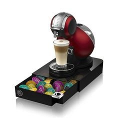 Revolving spiral 32 capsule coffee pod holder tower stand - Porte capsule dolce gusto ...