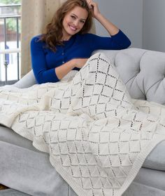Delicate Diamonds Throw