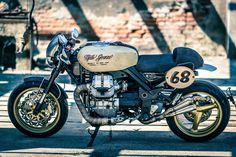 RocketGarage Cafe Racer: Moto Guzzi Griso Vintage Cafe