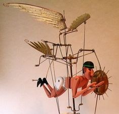 Flying Mechanical Icarus Automaton  (Thank you, Doug North for all the great pins. Keep up the good work.)