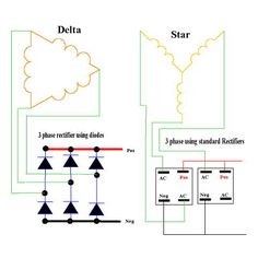 Star and Delta Rectifiers  sc 1 st  Pinterest : delta wiring - yogabreezes.com