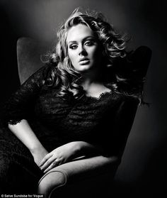 Adele, is not only a great singer, she is cleary very wise as well. Vogue British Editorial The Bombshell: Adele, October 2011 Vogue Uk, Vogue Magazine Covers, Vogue Covers, Magazine Photos, Pretty People, Beautiful People, Beautiful Voice, Gorgeous Lady, Pretty Woman