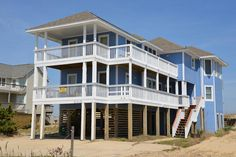 South Nags Head Vacation Rental: The Beach House 261 |  Outer Banks Rentals
